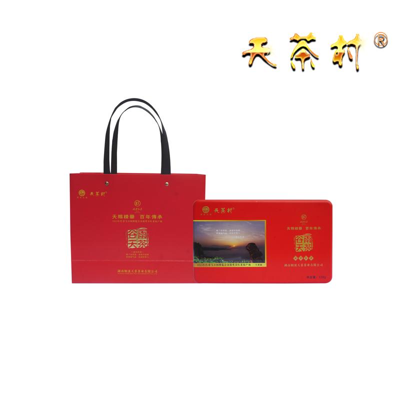 title='谷雨天茶(二级,2018年,礼盒装)'