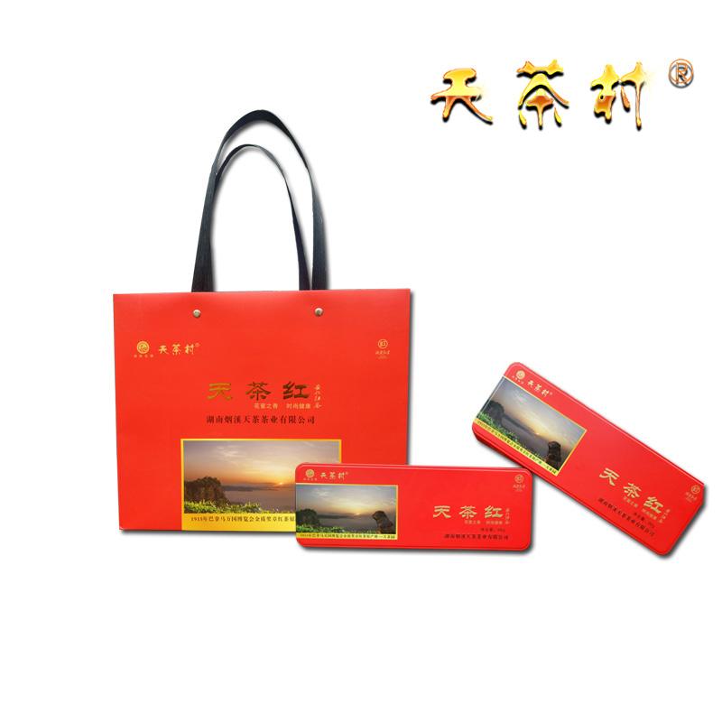 title='天茶紅(二級,2020年,禮盒裝,96g/條(每條4g*24包)'